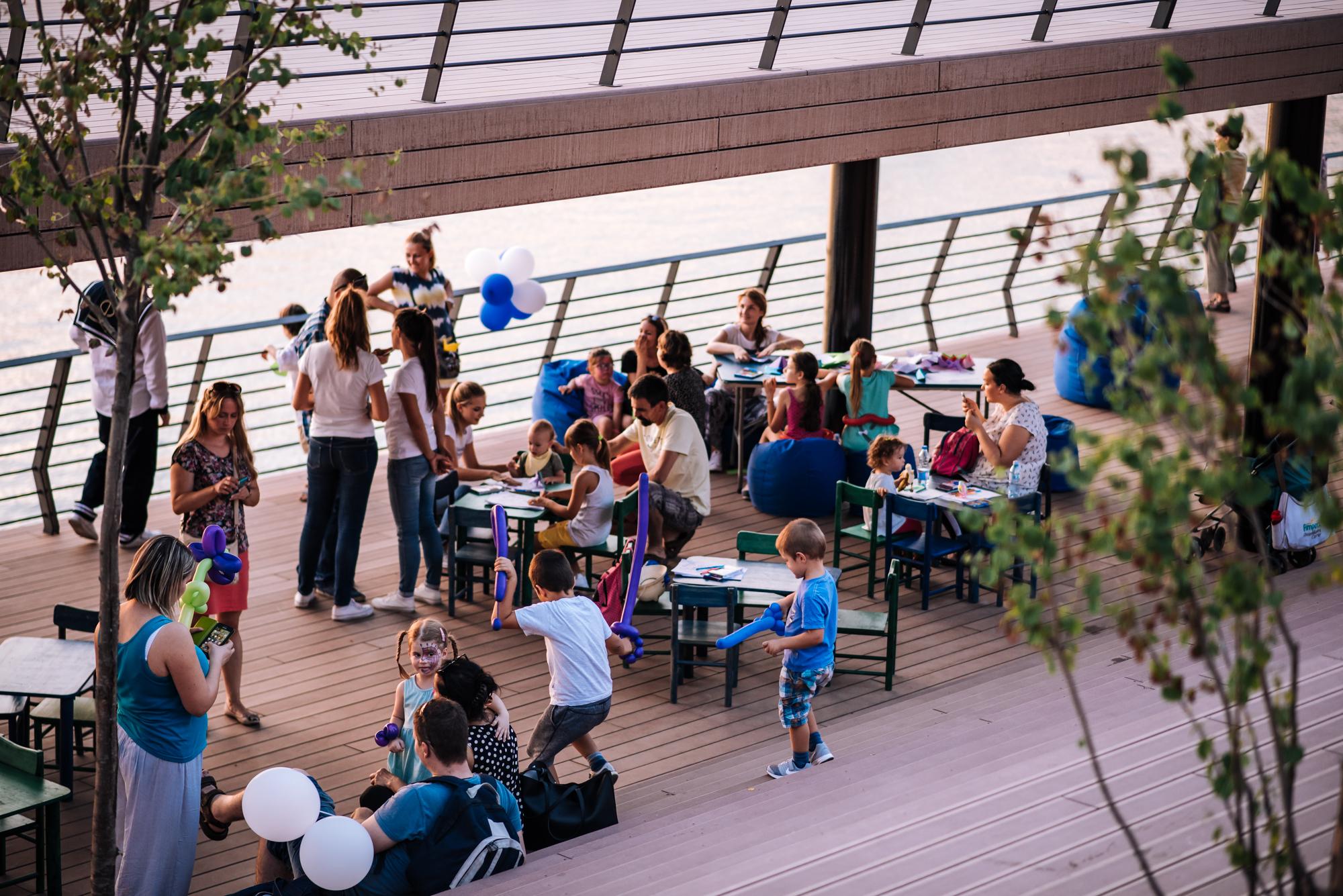 Kreativna nedelja na Sava Promenadi za mališane!