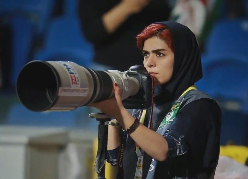 Parisa je prva Iranka koja je uspešno pratila fudbalski meč