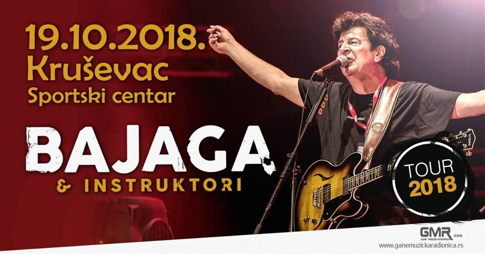 Koncert Bajage i Instruktora u Kruševcu