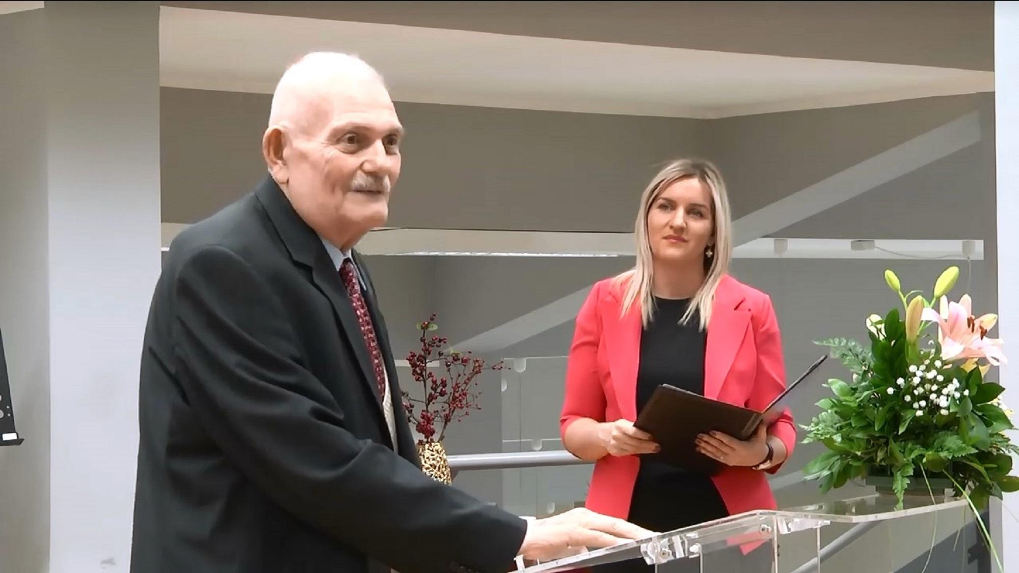 Profesor Ivan Gutman dobitnik Svetosavske nagrade