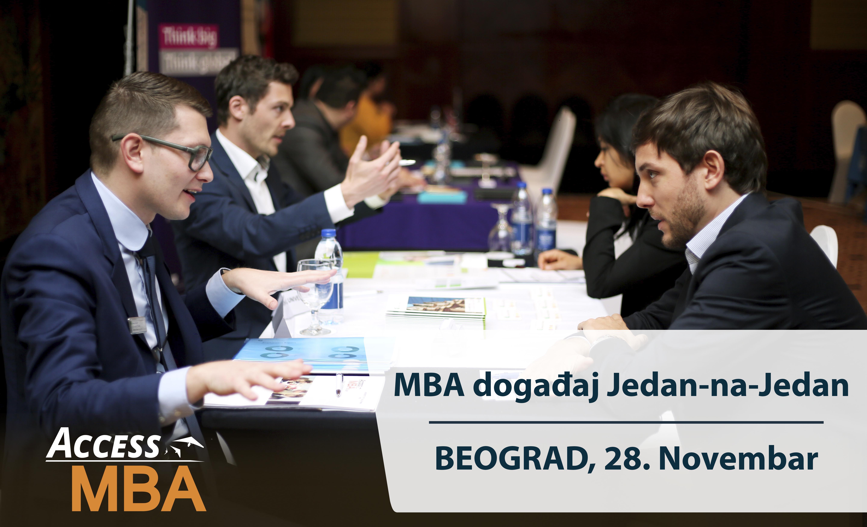 Access MBA Event, Beograd 28. novembar, 2019