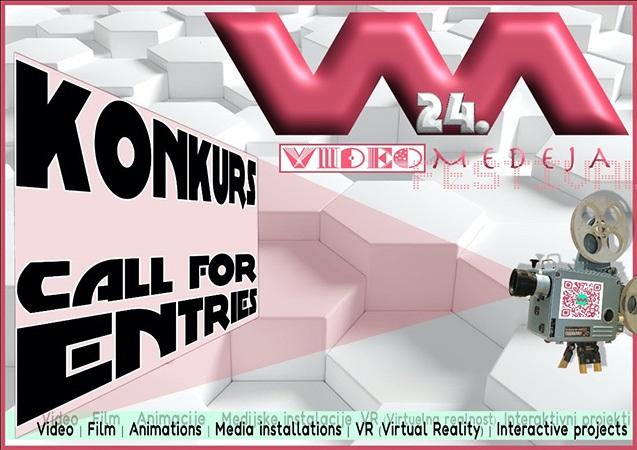 24. Videomedeja: Konkurs za umetnike