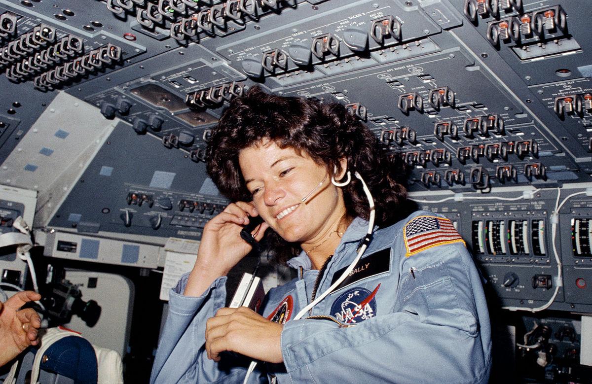 Sali Rajd - prva Amerikanka u svemiru