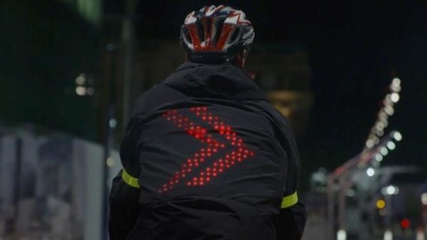 Pametna jakna za bicikliste
