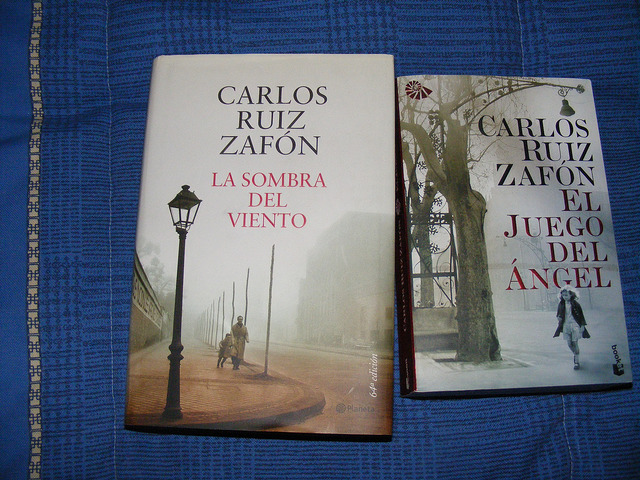 Karlos Ruis Safon objavljuje novu knjigu