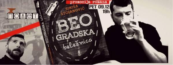 "Dođite na promociju ""Beogradske beležnice"""