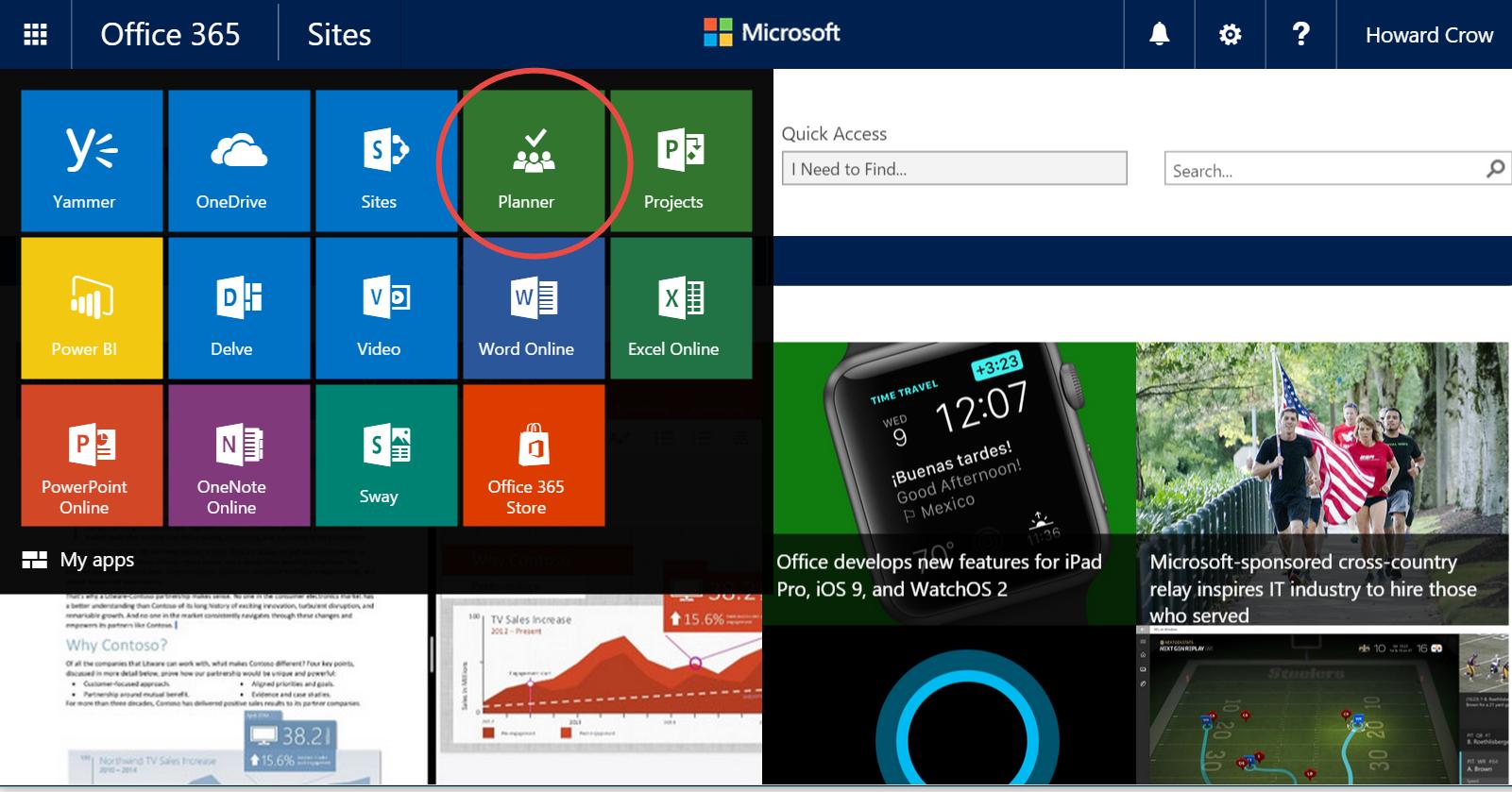 Lansiranje Microsoft Office 365 Plannera