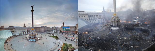 Ukrajina; početak kraja truckanja