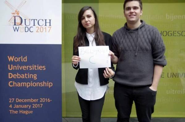 Studenti iz Srbije svetski prvaci u debati