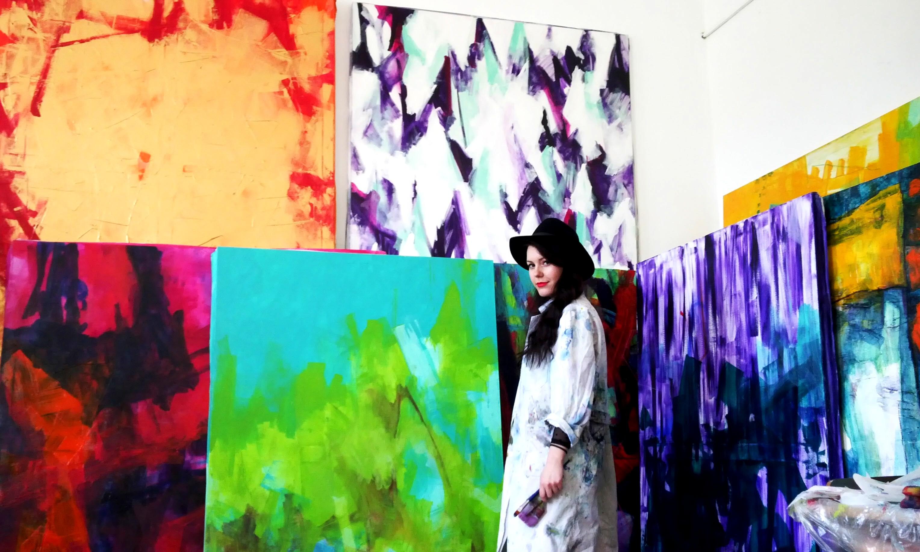 Umetnica Biljana M: Svet boja mojom rukom