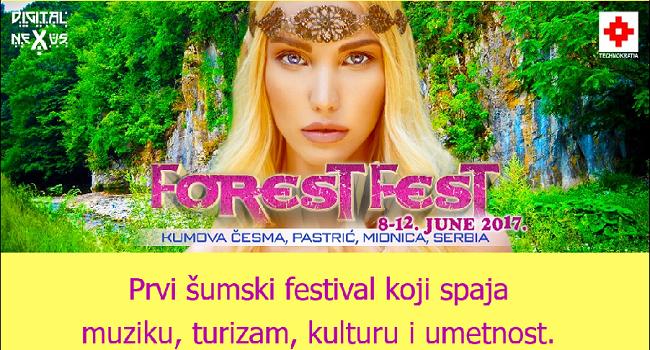Posetite FOREST FEST besplatno!