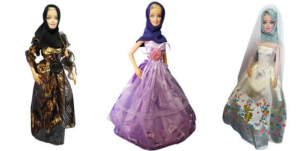 Barbike u muslimanskoj odeći na tržistu!