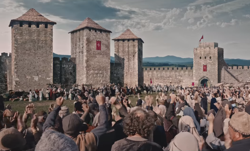 Dramsko-igrana televizijska obrada srednjeg veka
