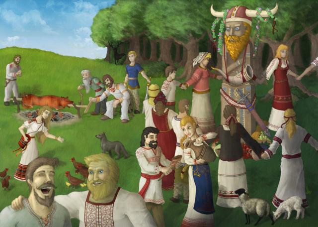 Ko je boravio na panteonu Starih Slovena? II deo